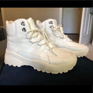 High top sneakers chunky sneakers